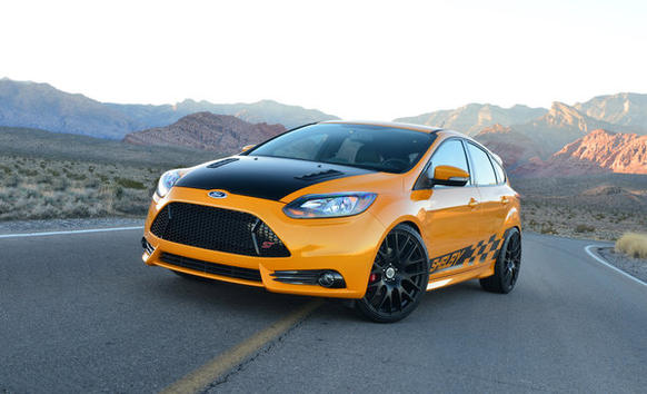 Shelby American unveiled a souped-up version of a Ford Focus at the 2013 Detroit Auto Show.