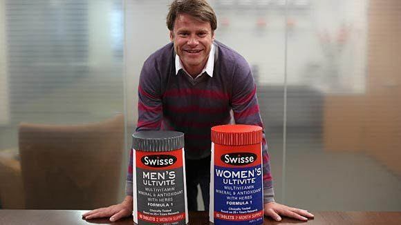 Radek Sali, CEO of Australian vitamin maker Swisse. (E. Jason Wambsgans/Chicago Tribune)