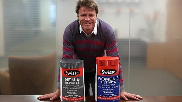 Radek Sali, CEO of Australian vitamin maker Swisse. (E. Jason Wambsgans/Chicago Tribune)