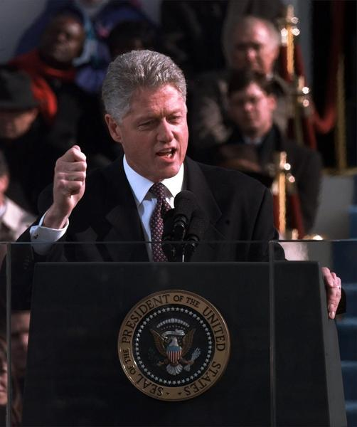 Past presidential inaugurations - Bill Clinton