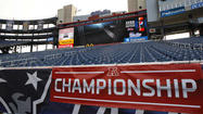 For Ravens fans considering a visit to New England to see the AFC Championship game at Gillette Stadium, there's good news and bad news about planning your trip.