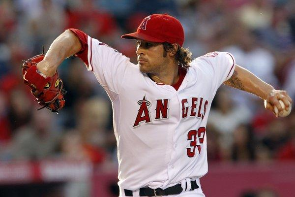 Angles pitcher C.J. Wilson says he's feeling like his old self again after October surgery to remove bone spurs from his left elbow.
