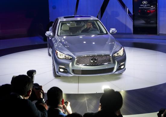Pricing for the Q50, which goes on sale this summer, isn't out yet.