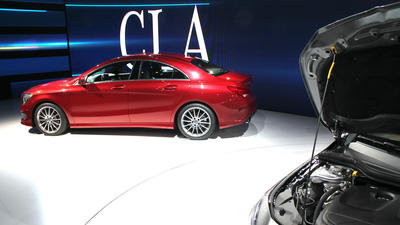 Detroit auto show: Entry-level luxury sedan competition heats up