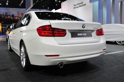 The new BMW 320i sedan is a lower powered version of the German automaker's bread-and-butter 3-Series line.