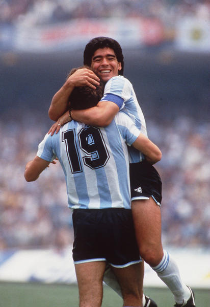 "Diego Maradona, soccer: In a quarterfinal match of the 1986 World Cup against England, the Argentina star scored the game's opening goal with his left fist, a no-no in soccer. After the game, Maradona famously said in Spanish that the goal was scored ""a little with the head of Maradona and a little with the hand of God"". Sadly, the 'Hand of God' goal has overshadowed Maradona's second goal, scored just minutes later, that was voted FIFA's 'Goal of the Century.'"