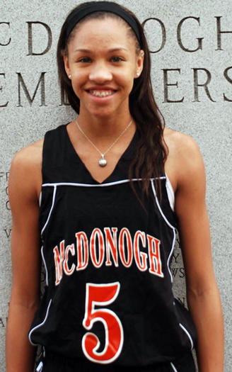Girls Athlete of the Week (Jan. 16): Danielle Edwards, McDonogh, basketball