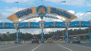 Overlooked by many in all the hoopla over the opening of New Fantasyland at Walt Disney World's Magic Kingdom was the makeover given to the entrance signage and parking-payment booths at the Transportation and Ticket Center.