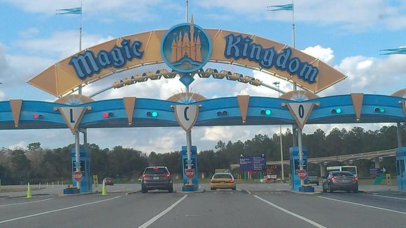 Picture: Magic Kingdom entrance