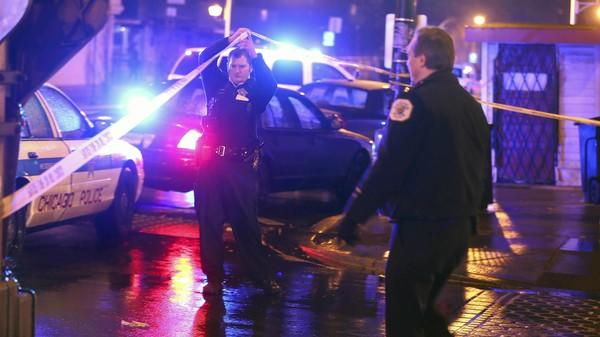 Chicago police investigate another shooting, this one on the South Side this month.