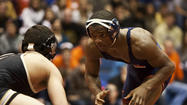 B.J. Futrell came back from surgery on a torn labrum and biceps tendon to become a wrestling All-America the next season. He has come back from surgery to repair a heart problem to become the third-ranked 141-pound wrestler in the country this season.