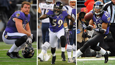 Ravens might not be able to keep three young defenders