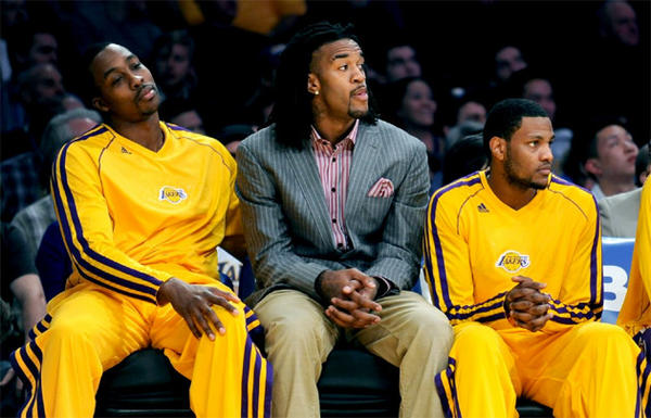 The Lakers have requested a disabled player exemption for Jordan Hill, center, who will miss the remainder of the season with a hip injury.