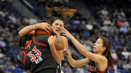 HARTFORD — Every post player develops at her own pace. There is no growth chart suggesting the norm.