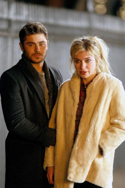 "Zac Efron and Imogen Poots filming ""Are We Officially Dating?"" in New York City."