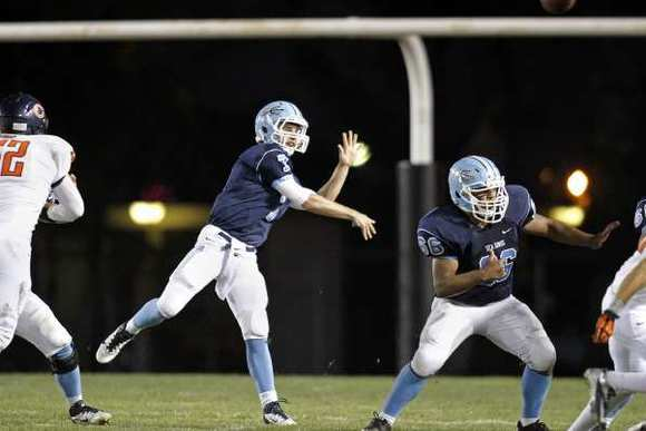 Corona del Mar High quarterback Cayman Carter was named CIF Southern Section Southern Division Offensive Player of the Year.