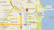 Location of Merchandise Mart shooting