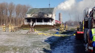 Fire hits Lakeville area home