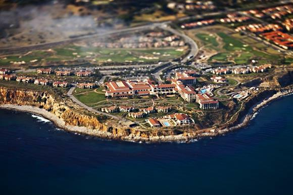 Terranea, a luxury resort in Rancho Palos Verdes with 582 hotel rooms, a nine-hole golf course, spa, three pools, multiple restaurants and views of the Point Vicente lighthouse.