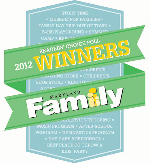 2012 Maryland Family Readers' Choice WINNERS!