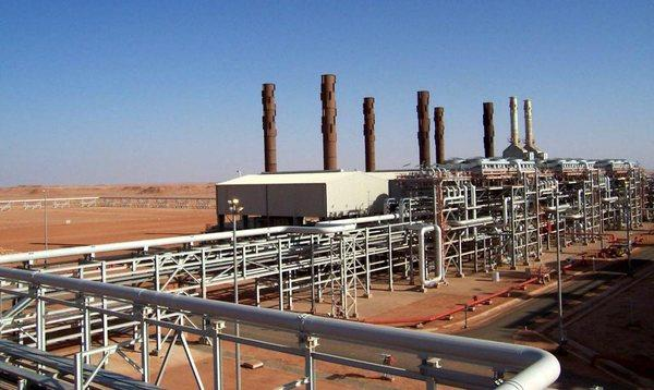 Algeria gas field