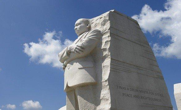 The Martin Luther King Jr. Memorial on the National Mall in Washington, D.C., was dedicated in 2011. The civil rights leader who would have turned 84 on Jan. 15.