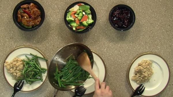 Sonny Chen, owner of Black Bamboo in West Hartford, joined Fox CT to make Dry Sauteed String Beans.