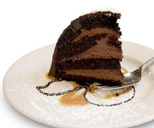 Chocolate Zuccotto Cake at Maggiano's Little Italy has 1,820 calories, according to Center for the Science in the Public Interest.