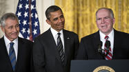 BY NOMINATING Chuck Hagel to be his defence secretary and John Brennan as director of the Central Intelligence Agency, Barack Obama has made plain what qualities he is looking for in his most senior security officials: experience, caution and, above all, endorsement of his own view that the world is messy and the opportunities for wielding unilateral American power are limited.