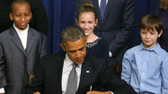 Obama's gun control push: Big, broad and brassy