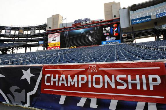 AFC Championship-Baltimore Ravens at New England Patriots