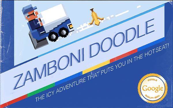 Google's game that honors inventor Frank Zamboni is simple, but addictive.