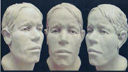 PHOTOS: Facial reconstruction of skeletal remains found in Southwest Virginia