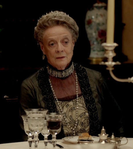 'Downton Abbey': Lady Violet, the Dowager Countess' notable quotables: Cousin Isobel: Ive ridden in the front seat many times. Lady Violet: Well, arent you the wild thing.