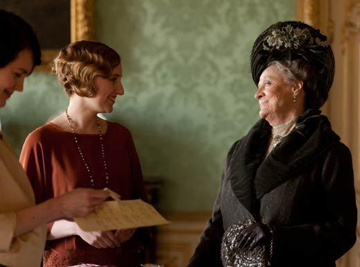 'Downton Abbey': Lady Violet, the Dowager Countess' notable quotables: Lady Violet: Sybil, vulgarity is no substitute for wit. Lady Sybil: Well, you started it.