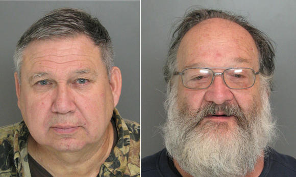 Suspects arrested at gun show