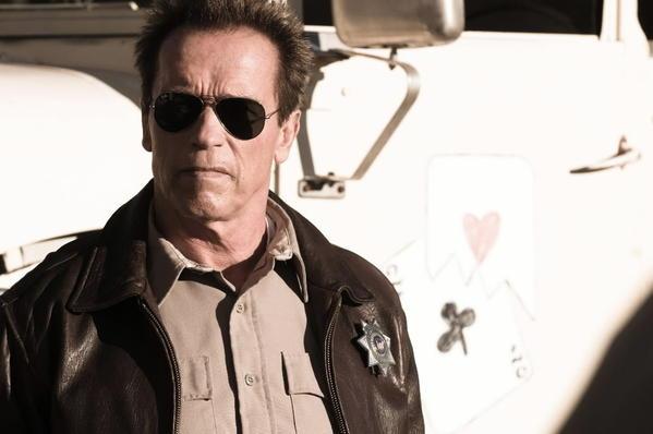 "Arnold Schwarzenegger stars in ""The Last Stand."""
