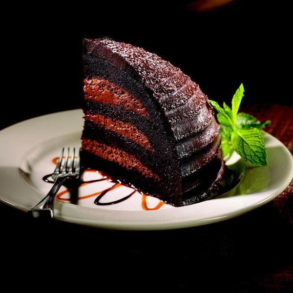 Chocolate cake from Maggiano's Little Italy weighs in at 1,820 calories, the Center for Science in the Public Interest warns. Federal dietary guidelines recommend that adults consume 2,000 calories a day.