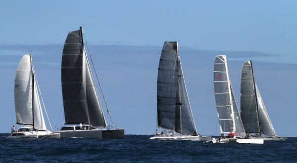 The 38th Fort Lauderdale to Key West sailing regatta.