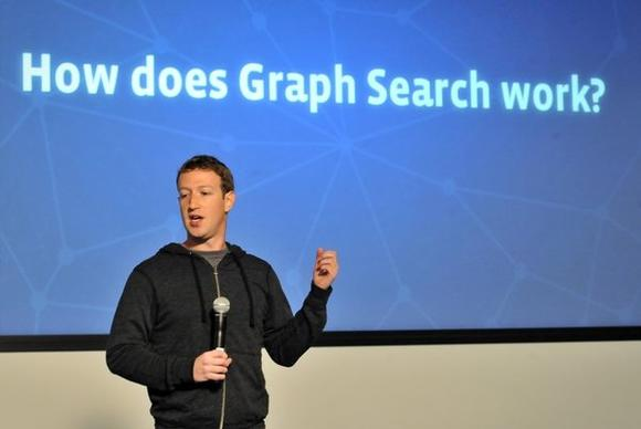 Facebook CEO Mark Zuckerberg announces Graph Search.