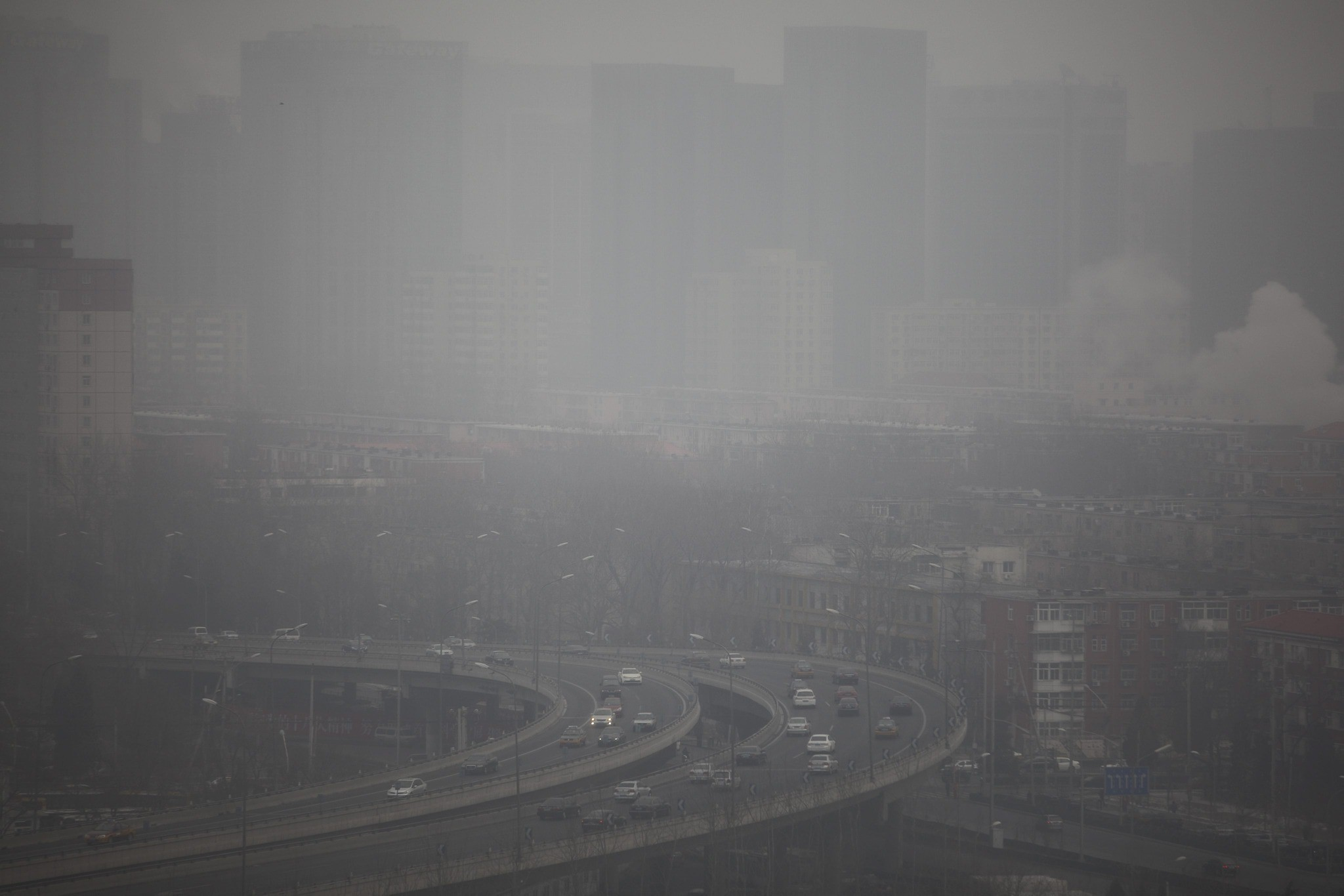 Smog in China - China air pollution