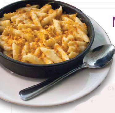 Deep dish macaroni and 3-cheese: 1,980 calories.