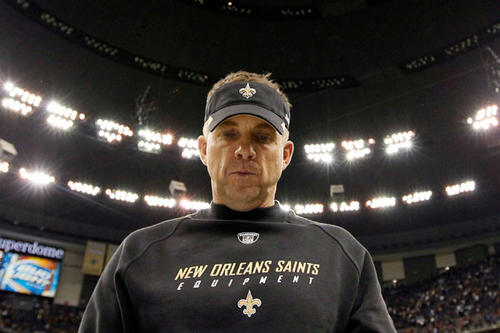 The NFL suspended New Orleans Coach Sean Payton for the 2012 season because of the team's bounty program that targeted opposing players.