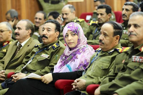 Activist Tawakul Karman of Yemen