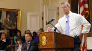 Gov. Martin O'Malley released a $37 billion spending plan Wednesday that for the first time in recent years contains no drastic cuts or proposed tax increases.