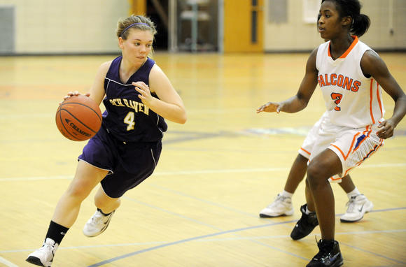 Loch Raven vs. Overlea girls basketball