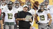 Don't let the visor fool you. New Philadelphia Eagles coach Chip Kelly is no Steve Spurrier.