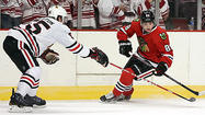 Photos: Blackhawks scrimmage on Wednesday