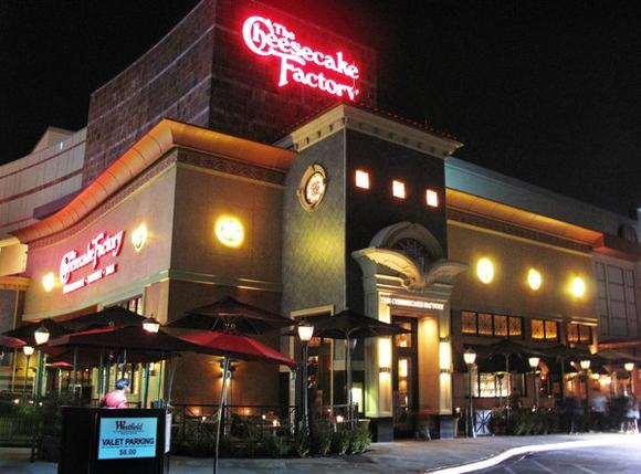 Cheesecake Factory in Arcadia