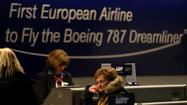 Dreamliner flight cancelled